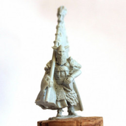Eastern Mercenary Banner-bearer (mtd)