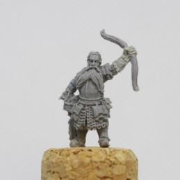 Dwarf Adventurer with Bow